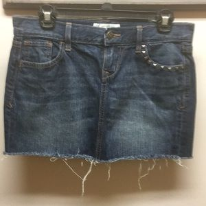 Old Navy denim mini skirt size 2